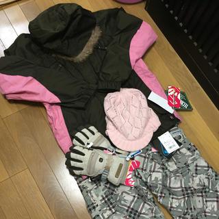 ESTIVO☆スノボウェア4点セット(その他)
