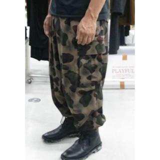 Yohji Yamamoto - yohji yamamoto 迷彩柄 カーゴパンツ