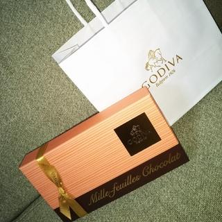 チョコレート(chocolate)の交渉可   GODIVA  ゴディバ  ミルフィーユショコラ  5個入り(菓子/デザート)