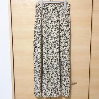 しまむら - 花柄スカート Lサイズ