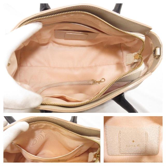 4℃(ヨンドシー)の美品■ Luria4°C ルリア4°C ハンドバッグ 2way ショルダーバッグ レディースのバッグ(ハンドバッグ)の商品写真