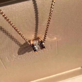 BVLGARI - ブルガリ ネックレス 刻印 ダイヤ 正規品