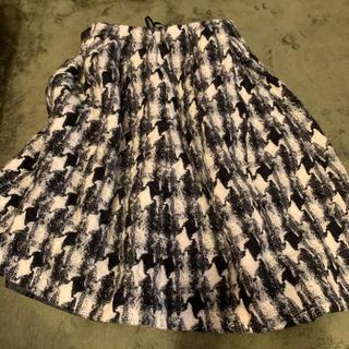 ストロベリーフィールズ(STRAWBERRY-FIELDS)のストロベリーフィールズ♡ichie♡千鳥格子(ひざ丈スカート)