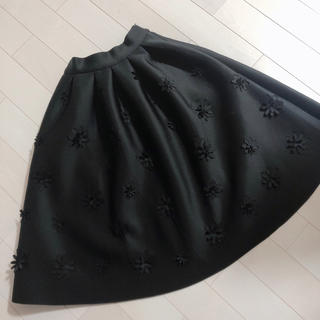 Chesty - ボンディング フレアスカート
