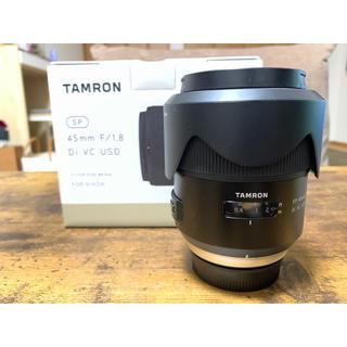TAMRON - ほぼ未使用品 SP 45mm F/1.8 Di VC USD Fマウント