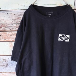 VANS - バンズ  VANS 半袖 Tシャツ ネイビー L
