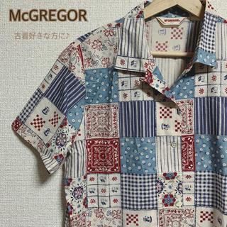 マックレガー(McGREGOR)のマックレガー 総柄シャツ (シャツ/ブラウス(長袖/七分))