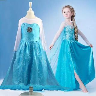 アナ雪エルサ ドレス 100