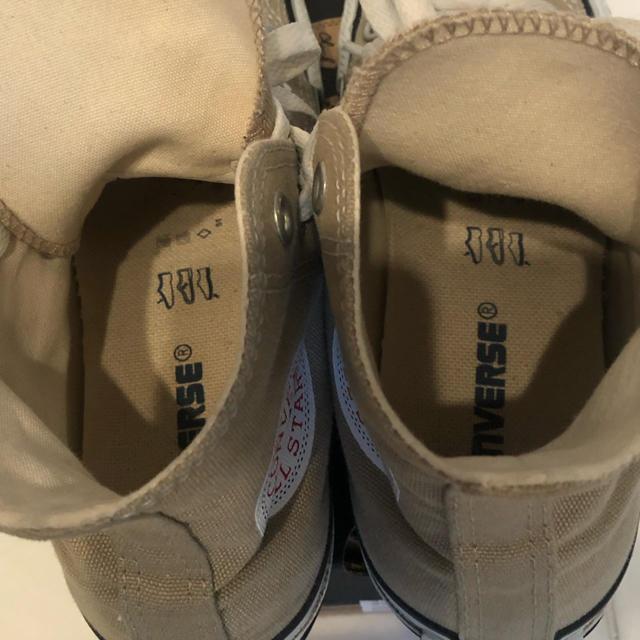 CONVERSE(コンバース)のコンバース ベージュ ハイカット レディースの靴/シューズ(スニーカー)の商品写真