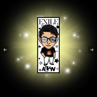 EXILE - 白濱亜嵐 千社札