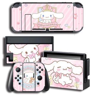 ニンテンドースイッチ(Nintendo Switch)のSwitch スイッチ スキンシール シナモン あつまれどうぶつの森 サンリオ(携帯用ゲームソフト)