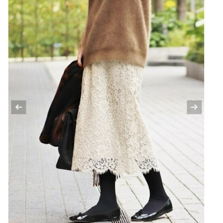 IENA - イエナ♡《追加》レースタイトスカート 34