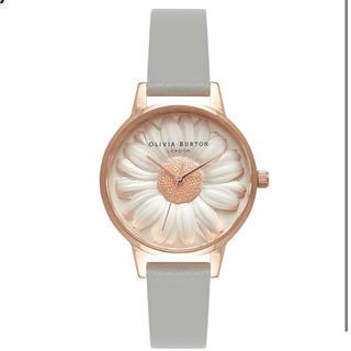 Daniel Wellington - 美品 オリビアバートン Olivia Burton 腕時計 デイジー グレー