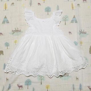 babyGAP - 女の子 70 ワンピース 白