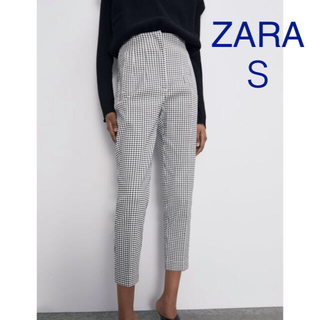 ZARA - ⭐︎新品未使用⭐︎ZARA ハイウエストチェック柄パンツ