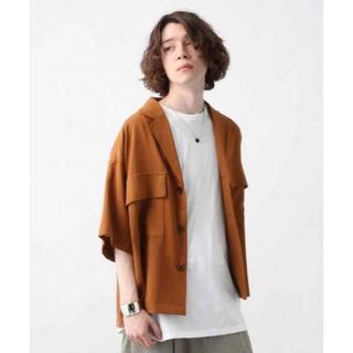 HARE - HARE BIG ポケットジャケットシャツ ハレ ビッグシルエット