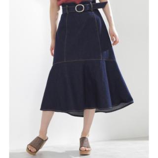 PROPORTION BODY DRESSING - プロポーション デニムスカート