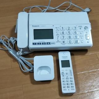 Panasonic - パナソニックおたっくす  親機KX-PD304-W  子機KX-FKD404-W