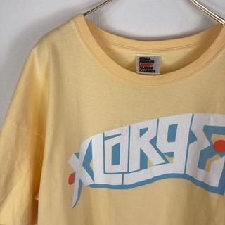 エクストララージ(XLARGE)のXLARGE USA製 ビッグシルエット Tシャツ イエロー 黄色(Tシャツ/カットソー(半袖/袖なし))