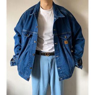 carhartt - vintage 90s xxxxl 超オーバーサイズ デニムジャケット Gジャン