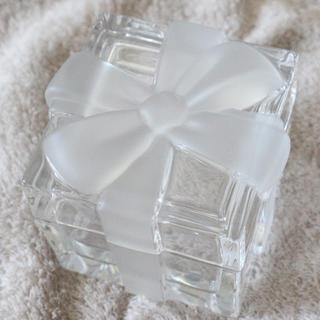 Tiffany & Co. - ♡レア商品♡ ティファニー  クリスタル  リボンボックス