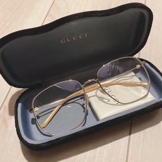 Gucci - グッチ gucci サングラス 伊達メガネ GG0396S