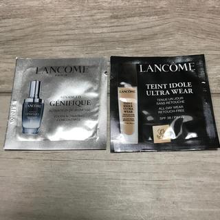 ランコム(LANCOME)のランコム サンプル 美容液&ファンデーションリキッド(サンプル/トライアルキット)