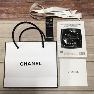 シャネル(CHANEL)のシャネル リップ空箱 目元クリームサンプル ショップ袋 リボン(サンプル/トライアルキット)