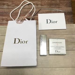 ディオール(Dior)のDior ディオール 空箱2個 ショップ袋 リボン カードケース(ショップ袋)