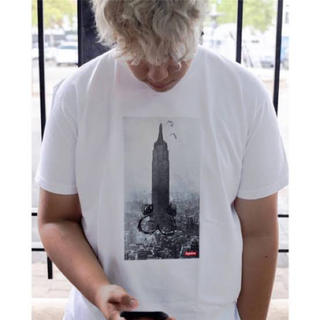 Supreme - The Empire State Building Tee grey