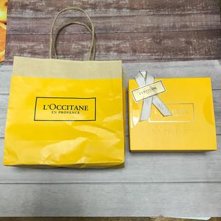 ロクシタン(L'OCCITANE)のアウトレット品 (袋に破れあり) ロクシタン 空箱&ショップ袋(ショップ袋)