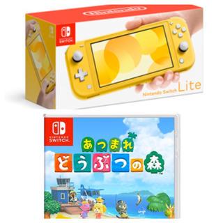 Nintendo Switch - スイッチライト どうぶつの森ソフトセット