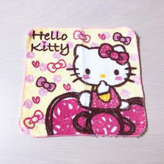 サンリオ - Hello Kitty タオルハンカチ ミニ