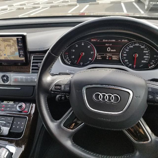 AUDI(アウディ)のアウディ A8 4.0 クワトロプレセンスPKG V8直噴ターボ 自動車/バイクの自動車(車体)の商品写真