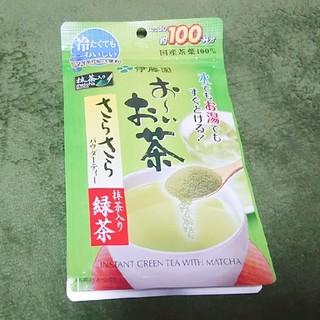 伊藤園 - お~いお茶  さらさら抹茶入り緑茶80g