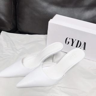 GYDA - GYDA ポインテッドミュール ホワイト