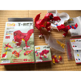 LaQ T-REX ダイナソーワールド 恐竜 T-REX ラキュー ブロック