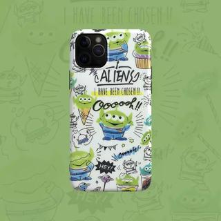 Disney - 入荷予定☆iPhone11 エイリアン ソフトTUPケース 白