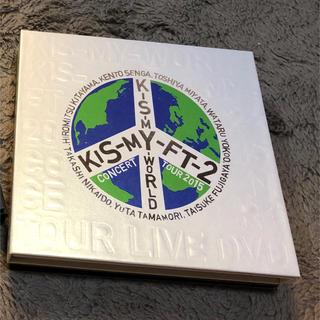キスマイフットツー(Kis-My-Ft2)のKis-My-Ft2  KIS-MY-WORLD Blu-ray初回限定盤(アイドルグッズ)