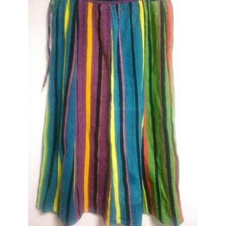 カラフルロングスカート
