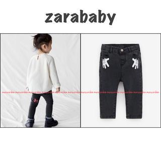 ZARA KIDS - zarababy ザラベビー ミニー ストレッチ スキニー デニム パンツ 92