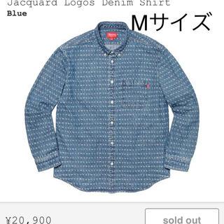Supreme - supreme デニム シャツ デニムシャツ ブルー