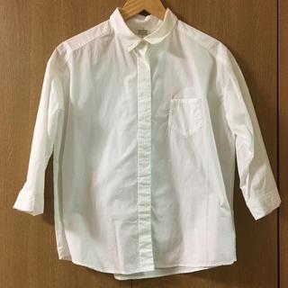 ビュルデサボン(bulle de savon)のbulle de savon ビュルデサボン 白シャツ 長袖 ホワイト(シャツ/ブラウス(長袖/七分))