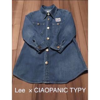 CIAOPANIC TYPY - Lee×CIAOPANIC TYPY♡デニムワンピース♡110