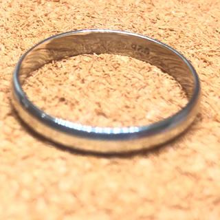 甲丸シルバー925リング銀ラウンド指輪スターリングSILVER925ペアマリッジ(リング(指輪))