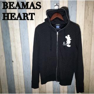 BEAMS - BEAMS HEART ディズニー コラボ パーカー ドット ミッキー