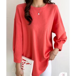 ディーホリック(dholic)の今期新作DHOLIC 袖デザインTシャツ カットソー(Tシャツ/カットソー(七分/長袖))