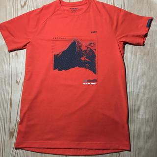 マムート(Mammut)のMAMMUT マムート Tシャツ 吸水速乾 欧米SアジアMサイズ(登山用品)