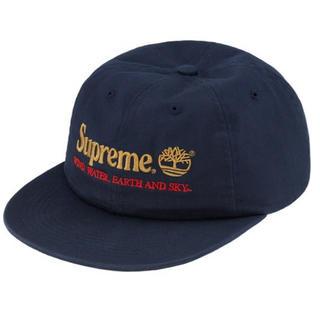 Supreme - supreme/timberland 6-panel cap キャップ navy