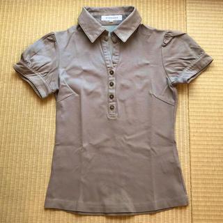 エムプルミエ(M-premier)のエムプルミエ ポロシャツ 36(Tシャツ(半袖/袖なし))